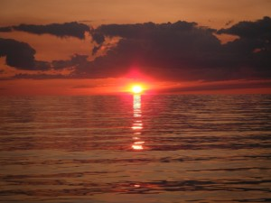 Lake Huron Sunset-2
